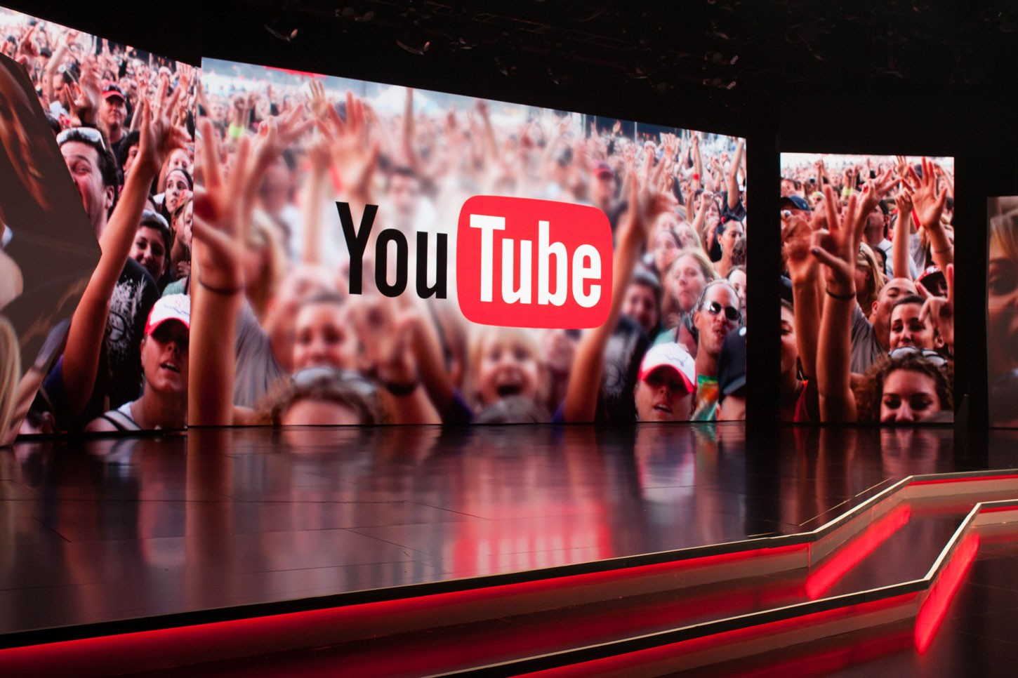 Youtube broadcast diffusion vidéo visioconférence